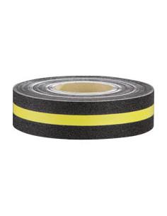Multifunktionsbelag, Rutschhemmung R13, gelb/schwarz, 50mmx18,3m/Rolle