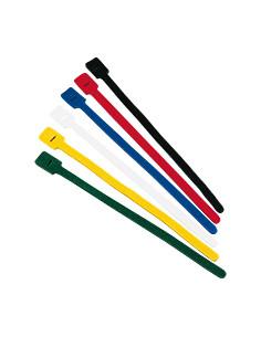 Kabelklittenband,met ophangsleuf, 6 kleuren,polypropyleen,13x325 mm,12/VE