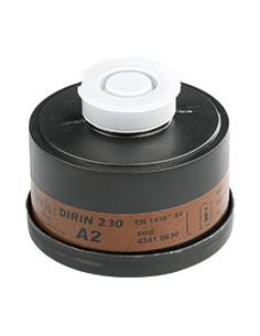 EKASTU ademhalingsbeschermingfilter A2, EN 141, schroefaansluiting volgens EN 148/1
