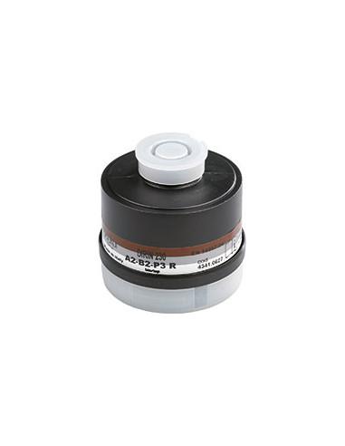 EKASTU ademhalingsbeschermingfilter A2B2-P3R D, EN 141,filteraansluiting EN 148/1, DIRIN 230