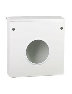 dispenser voor haarnetjes, met deksel, wit, aluminium gecoat, 320 x 330 x 90 mm