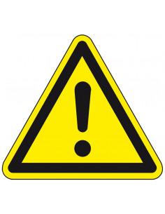Waarschuwingsbord 'Algemeen waarschuwingsteken', ISO 7010, SL 200 mm