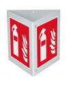 Triarama Brandblusser, ASR / ISO, 3-zijdig, kunststof, 250x250mm, F001