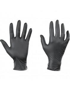 Nitril wegwerphandschoenen Ansell 93-250 TouchNTuff, poedervrij, een paar handschoenen
