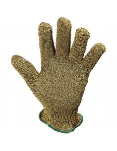 KCL Hitzeschutz-Handschuh KarboTECT® 950, Kat.III, gelb/schwarz,250mm, Größe 7