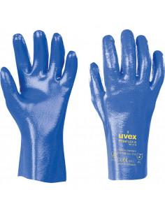 Uvex Rubiflex S 27/35 cm zuurbestendige handschoen