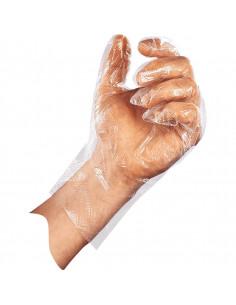 ESV WORK SensaFoil wegwerphandschoen, 3 x 100 stuks, hand in transparante handschoen