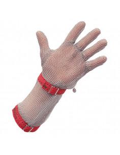 Steek- en snijbestendige handschoen met manchet Stahlnetz®
