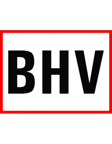 """Tekststicker """"BHV"""""""