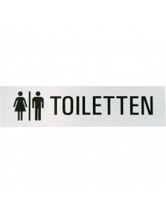 Aluminium WC bordje toiletten
