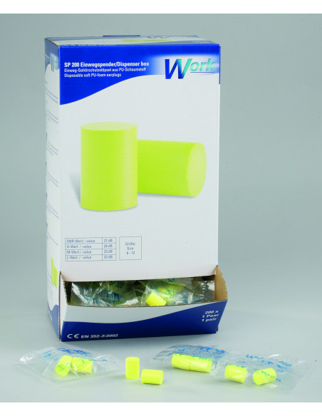 Work® SP 200 wegwerpdispenser, 27 dB