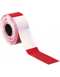250 meter afzetlint rood/wit extra sterk