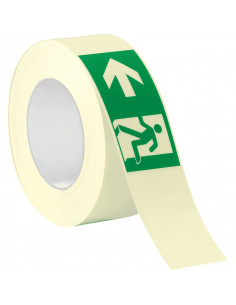 PERMALIGHT Power tape met pictogram vluchtweg links