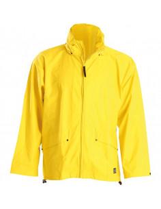 HELLY HANSEN Regenjas Stretch, polyesterweefsel, geel