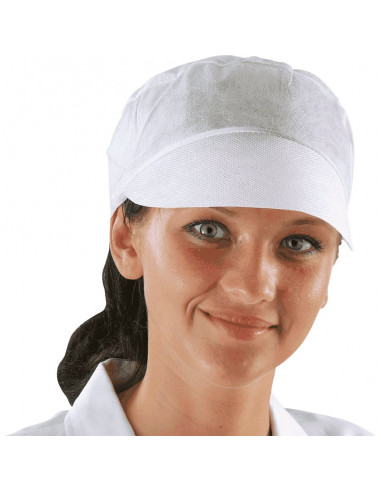 ESV WORK wegwerp pet met elastiek, polypropyleen, 100/VE