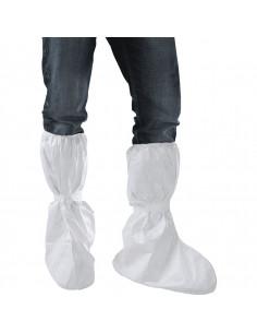 Tyvek® wegwerp-overlaars, met elastiek, wit, schachthoogte 48 cm, 20/VE