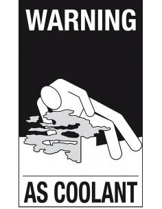 ADR sticker 'Pas op (zelfbeschrijven)' zeewaterbestendig