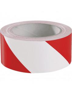 Markeringstape rood wit voor asfalt Traffic