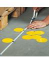 Maat- en markeringstape voor markeringsstippen