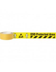Vloermarkeringstape ESD Protected Area