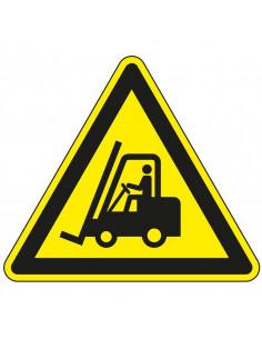 Vloermarkeringspictogram R9 'Waarschuwing voor heftruckverkeer'