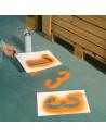 Sjablonenset 2 - voor markeringen met kleuren