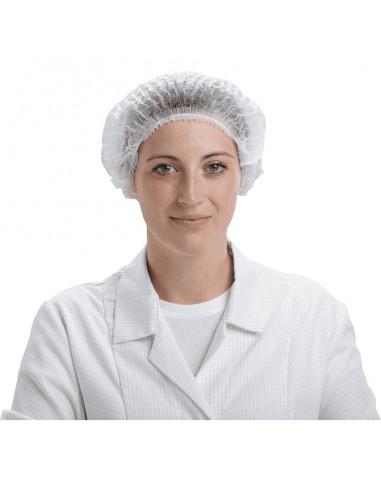 ESV WORK wegwerp haarnetje, polypropyleen, spingebonden, 100/VE