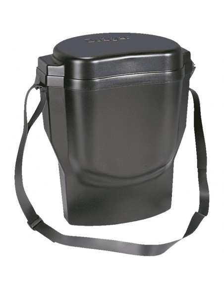 Opslagbox voor Dräger volgelaatsmaskers met draagriem