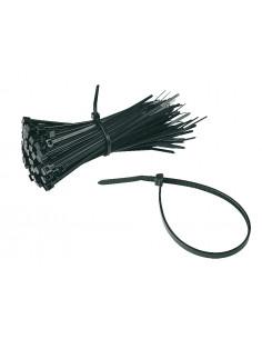 Kabelbinder, met sluitinghoofd, zwart, polyamide, 3, 5 x 200 mm, 100/VE