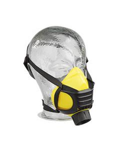 EKASTU Halfmasker Polimask ALFA/Silikone, met rondgewinde-Filteraansluiting, 140g