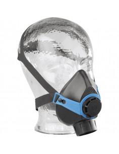 EKASTU Halfmasker Polimask 330, met ronde draag filteraansluiting, 140g