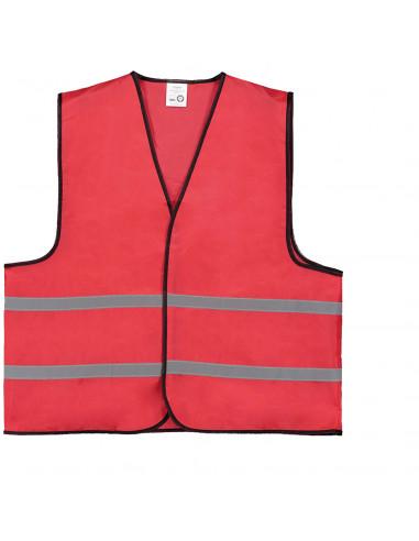 Veiligheidshesje rood standaard