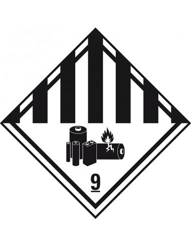 (2019) ADR sticker klasse 9 'Diverse gevaarlijke stoffen' folie