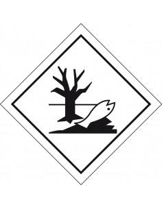 ADR sticker 'Schadelijk voor het milieu' reflecterende rand zeewaterbestendig