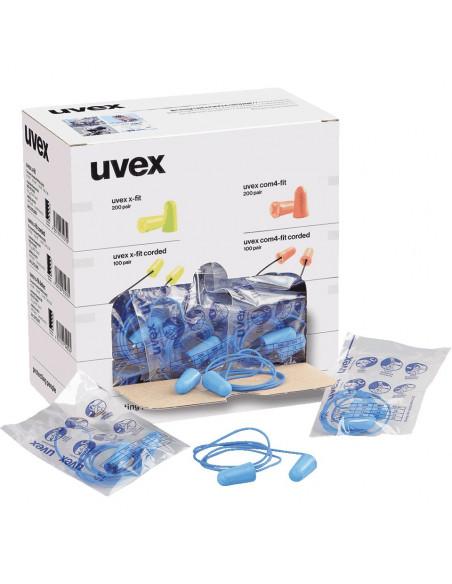 Uvex oordoppen X-fit detect met koord