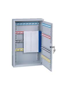 FORMAT sleutelkast S64, 1 deur, lichtgrijs, 300 x 450 x 80 mm, 4, 5 kg