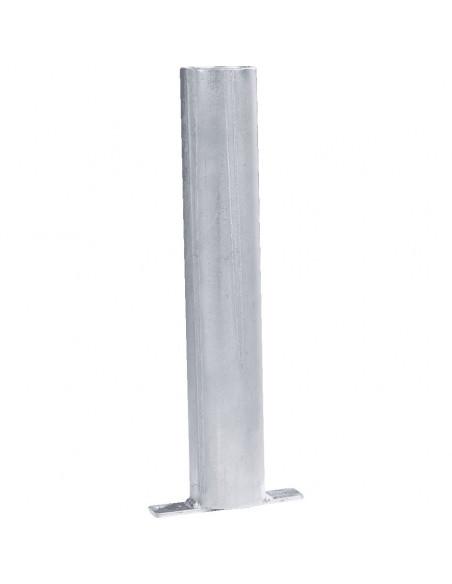 Grondhuls, voor buispaal Ø 60 mm, ingieten in beton, verzinkt, 400 mm