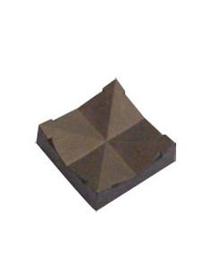 Pa-sokkel, voor hangers van PBT, polyamide, 22x22 mm
