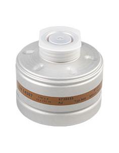 Dräger ademhalingsbeschermingfilter A 2,EN 141,half-/volgelaatsmaskers,EN 148/1,aluminium behuizing,300g