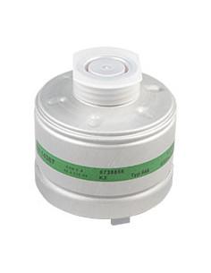 Dräger ademhalingsbeschermingfilter K 2, EN 141, half-/volgelaatsmaskers,EN 148/1,aluminium behuizing,300g