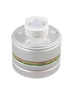Dräger ademhalingsbeschermingfilter A2 B2 E2 K1, EN 141, half-/volgelaatsmaskers, EN 148/1, 300g