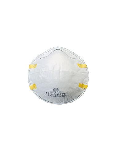 3M filterende fijnstofmaskers (halfgelaatsmaskers) 8710E FFP1NR D, wit, 20/VE
