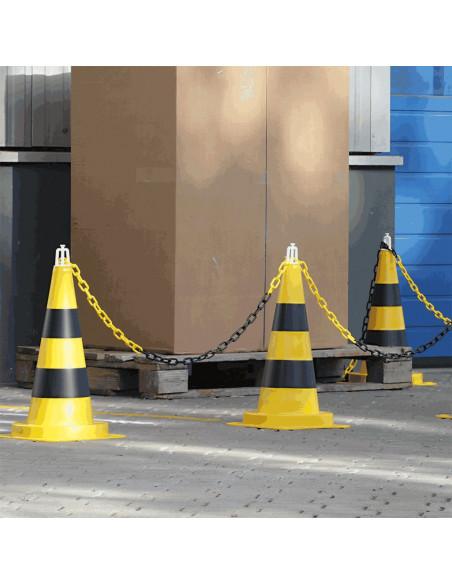 Verkeerskegel voor bedrijfsterrein, 200 mm