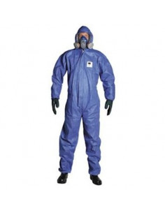 Disposable SMS overall Type 5/6, blauw, maat XXL