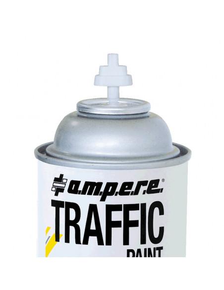 A.M.P.E.R.E. Markeerverf spray Traffic, kleur wit