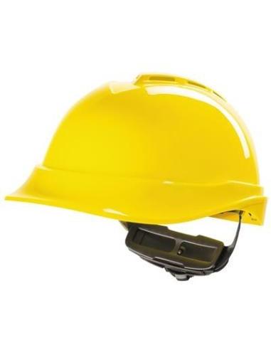 MSA V-Gard 200 veiligheidshelm, geel