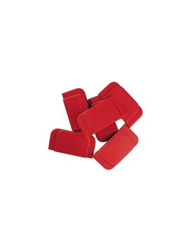 Reserve-bovenplaat voor Hoes voor Nooddeurklink, rood, 6/VE